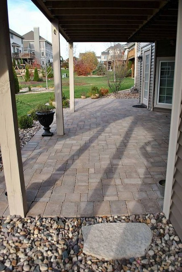 46 Awesome Brick Patterns Patio Ideas For Your Beautiful