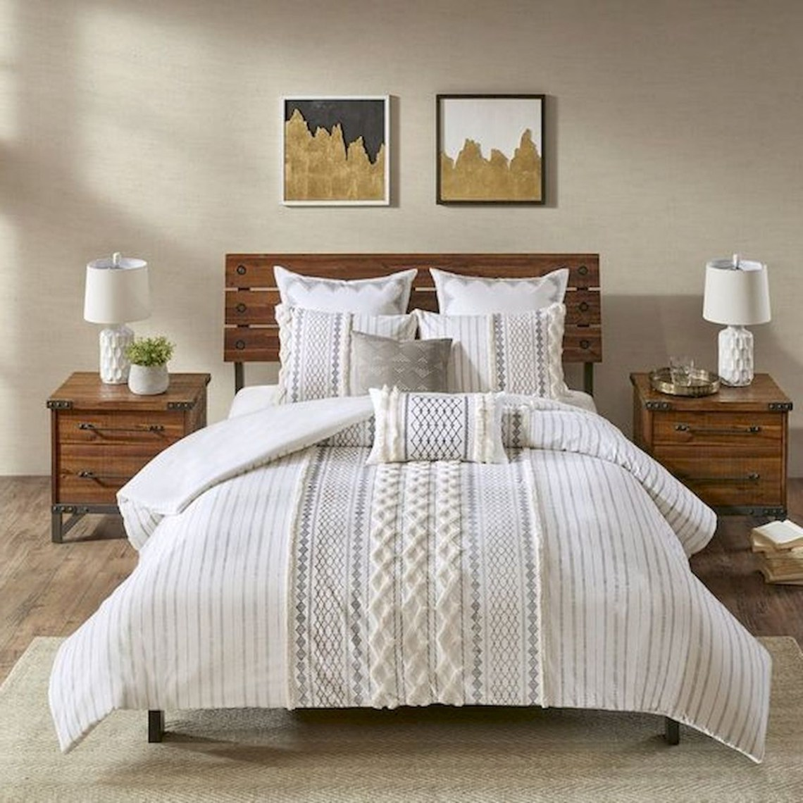 47 Most Popular Bedding For Farmhouse Bedroom Design Ideas
