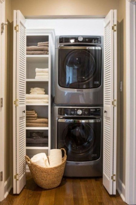47 Top Cozy Small Laundry Room Design Ideas Small
