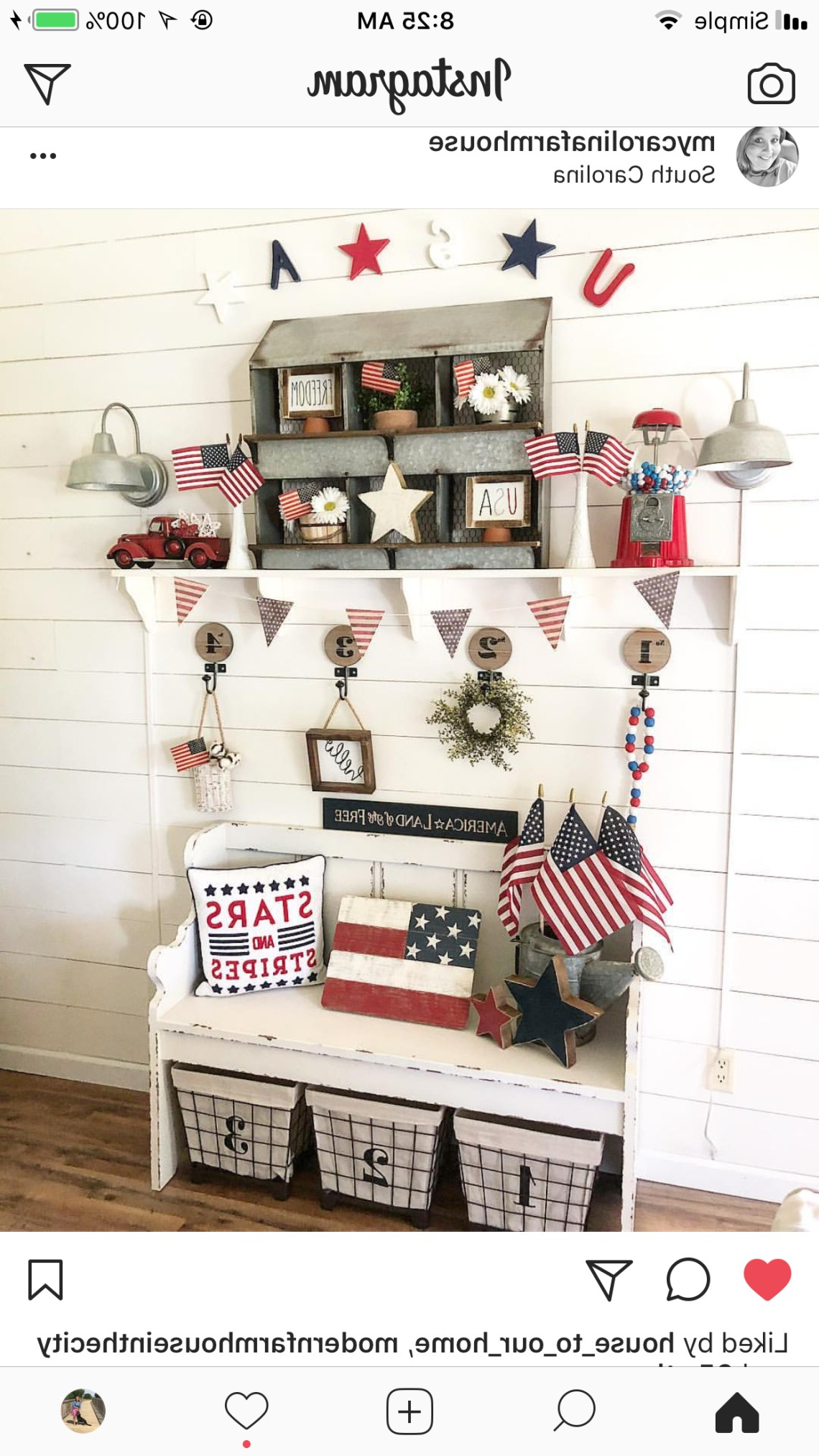 4th Of July Fourth Of July Decor 4th Of July