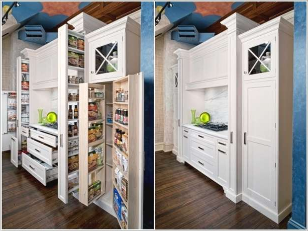 5 Fabulous Hidden Storage Ideas For Your Kitchen