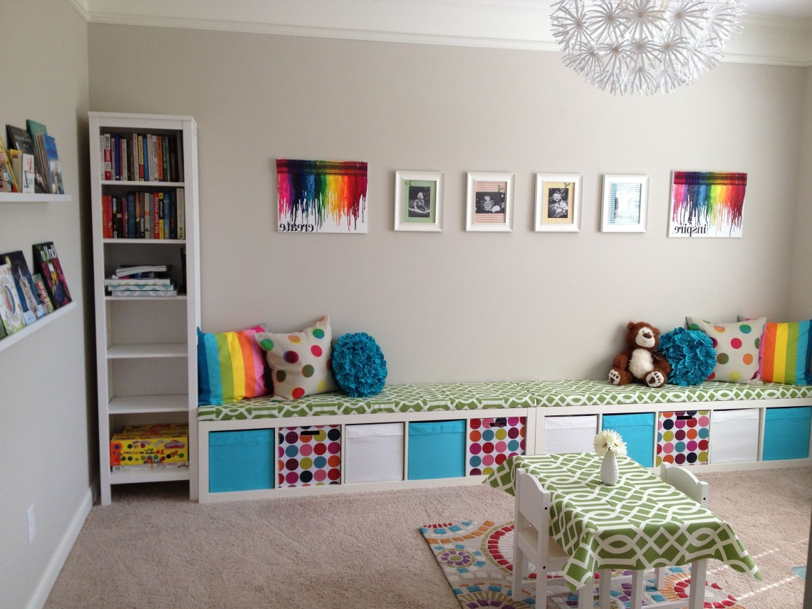 5 Smart And Creative Playroom Ideas On A Budget For The