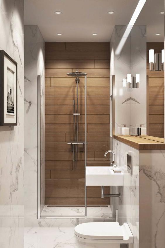 50 Amazing Small Bathroom Remodel Design Ideas Modern