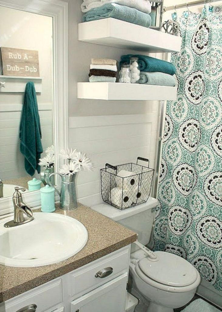 50 Best Small Bathroom Ideas On A Budget Diy Apartment