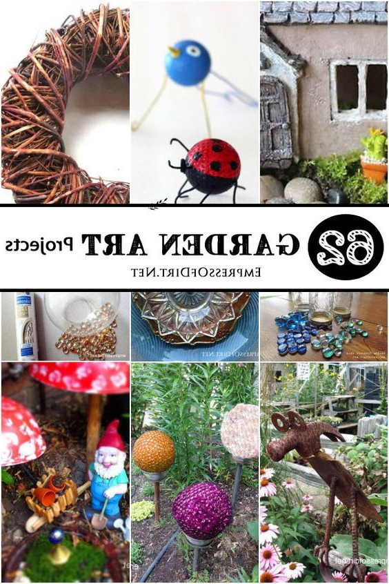 50 Creative Recycled Garden Art Projects Recycled