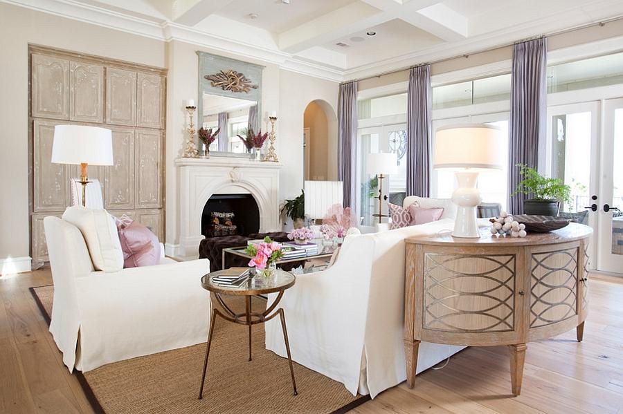 50 Elegant Feminine Living Room Design Ideas Interior God