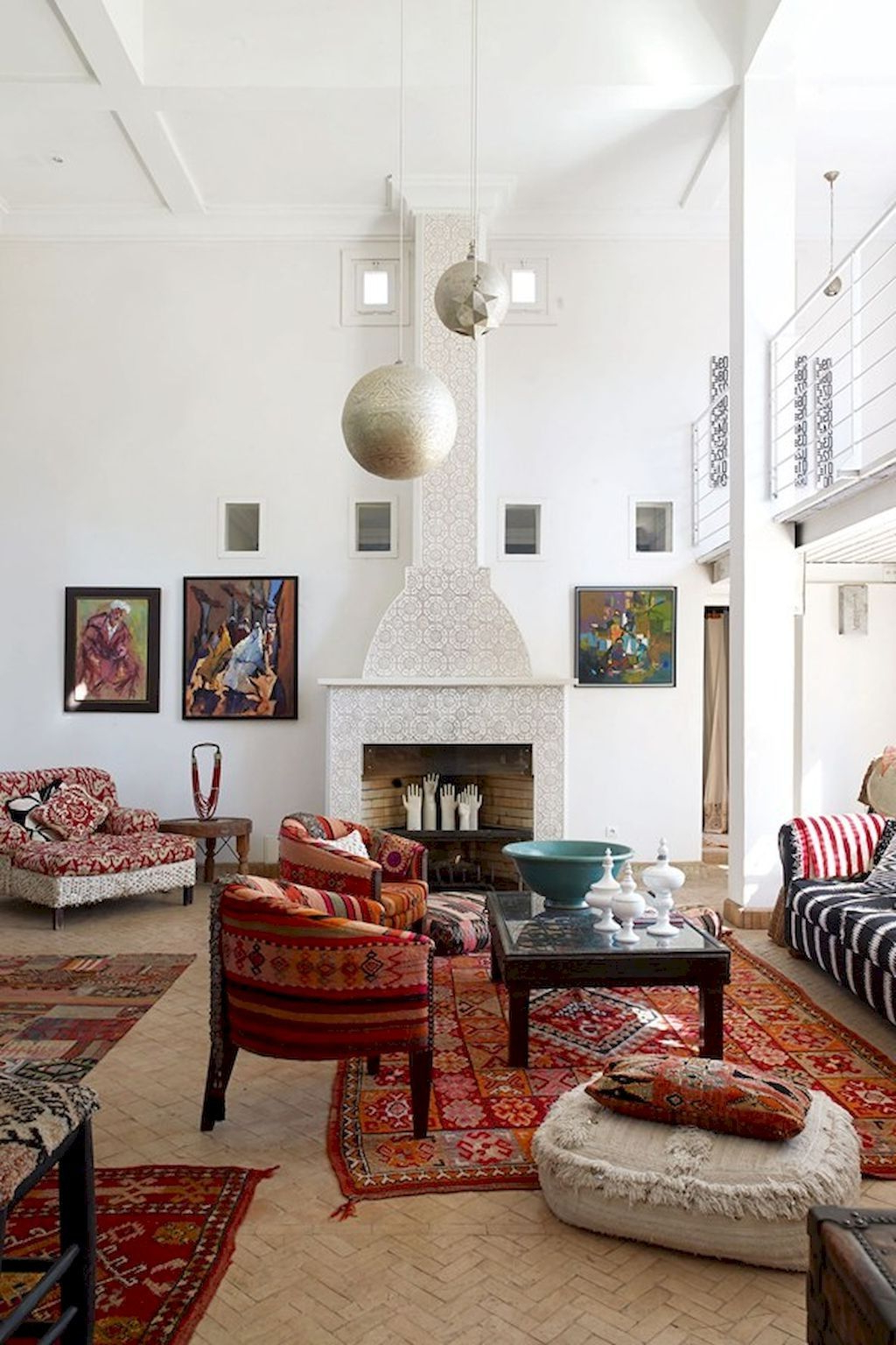 50 Fascinating Moroccan Vibe Style Living Room For