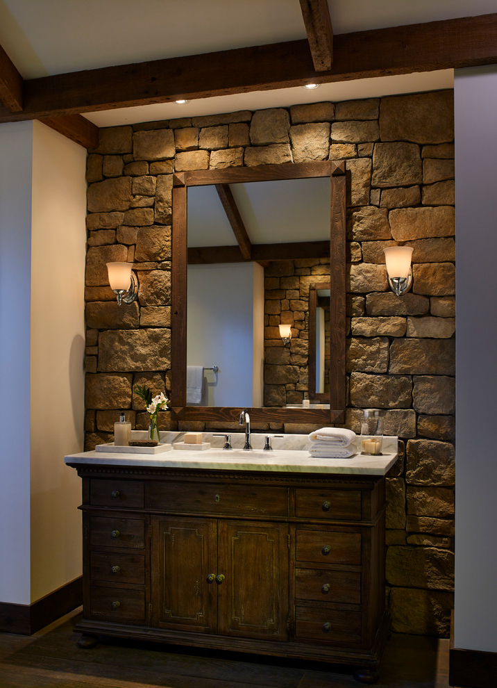 51 Stone Accent Wall Ideas For Various Rooms Digsdigs