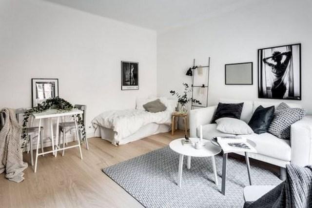 53 Best Minimalist Studio Apartment Small Spaces Decor