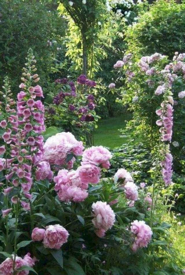 54 Stunning Cottage Garden Ideas For Front Yard