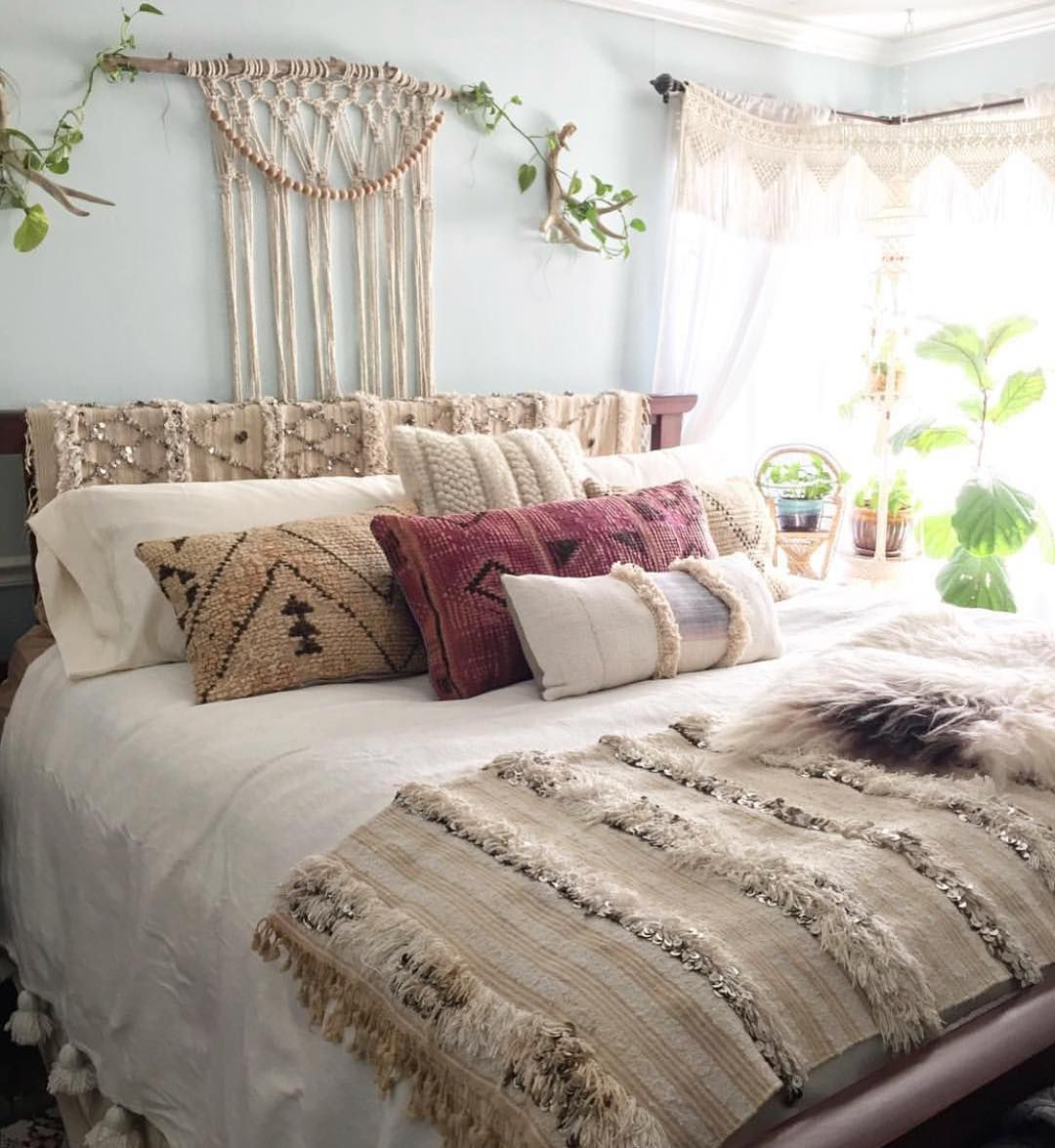 57 Bohemian Bedrooms Thatll Make You Want To Redecorate