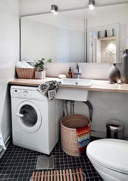58 Ideas Bath Room Small Organization Laundry Rooms Bath