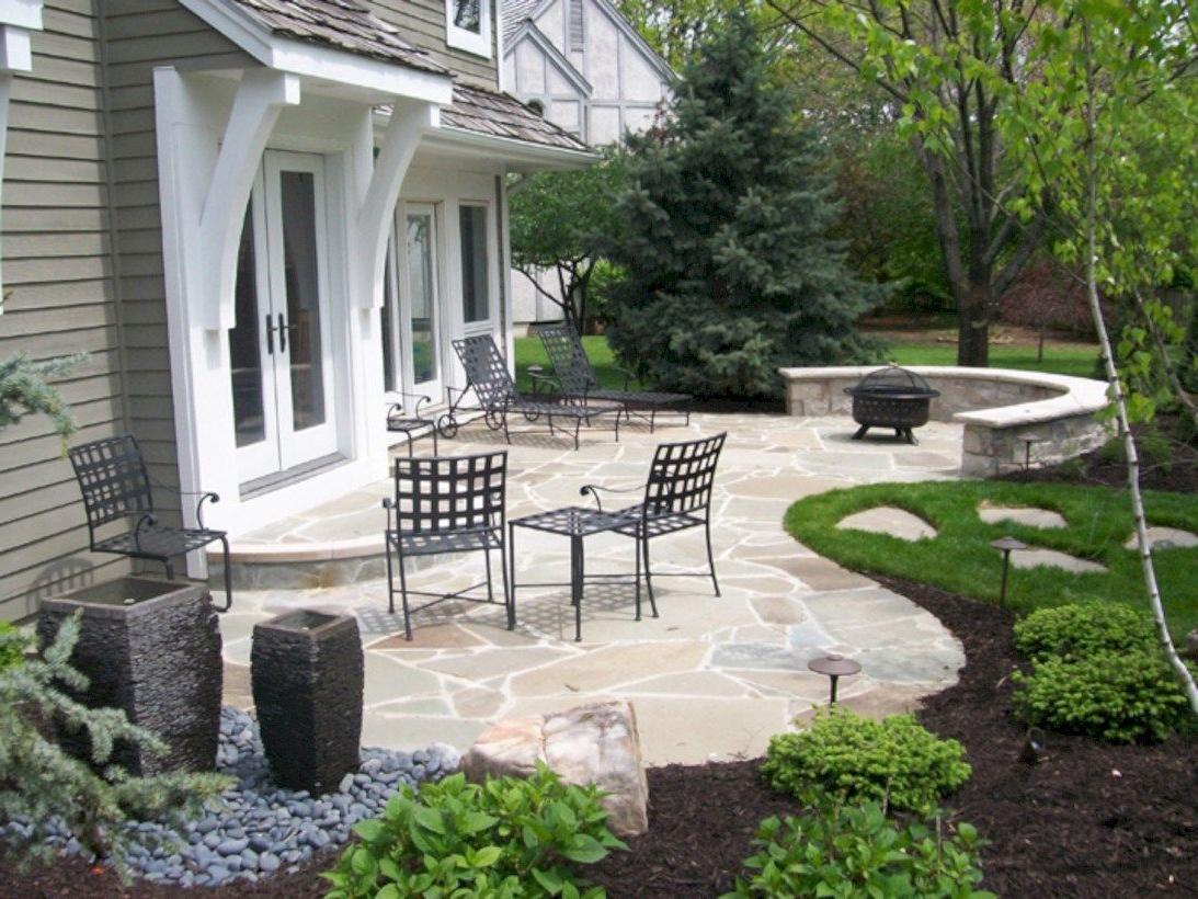 58 Simple Patio Decor Ideas On A Budget Stone Patio