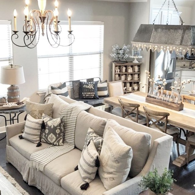 60 Beautiful French Country Living Room Decor Ideas