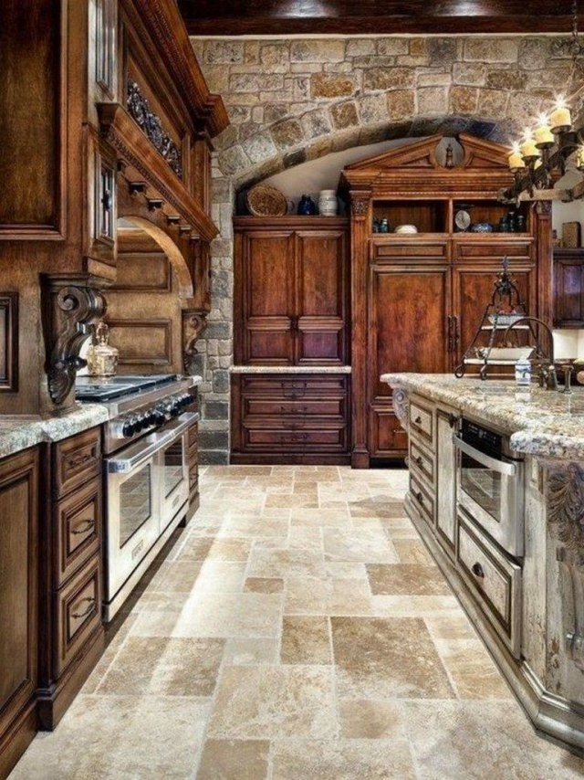 60 Best Rustic Country Style Kitchen Made Wood That You