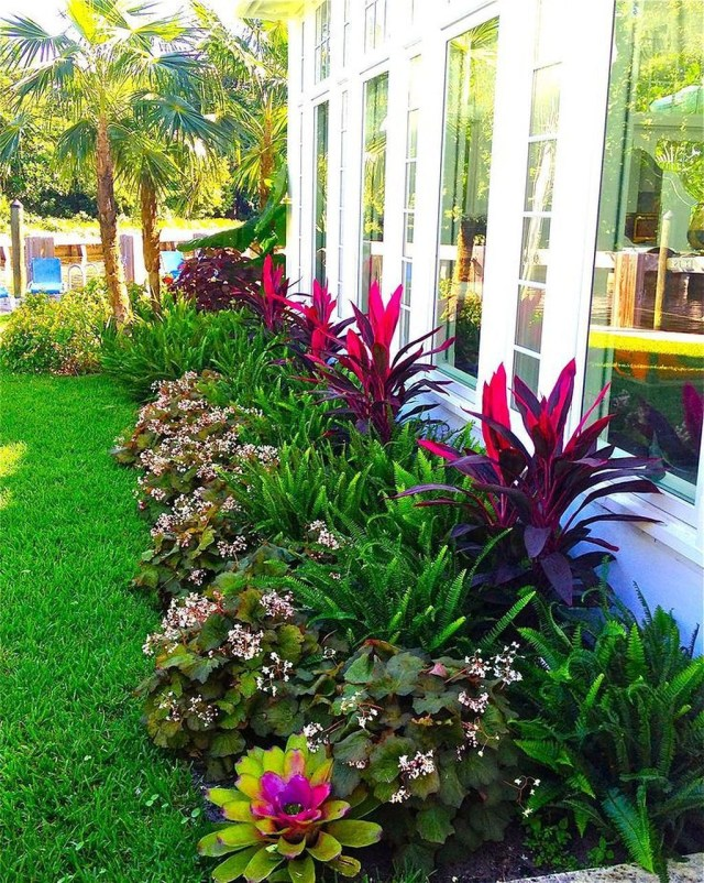 60 Warm Tropical Backyard Landscaping Ideas Tropical