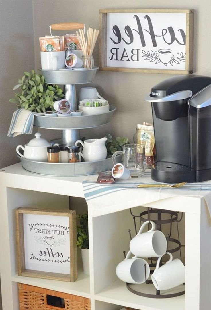 608 Best Coffee Bar Ideas Images On Pinterest Coffee