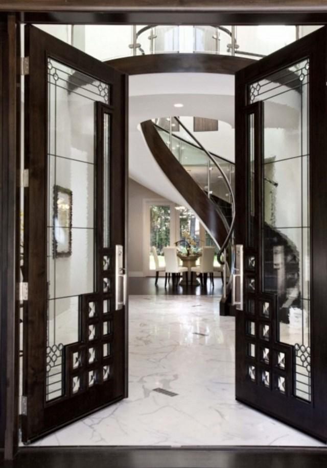 65 Astonishing Modern Front Entry Door Design Ideas