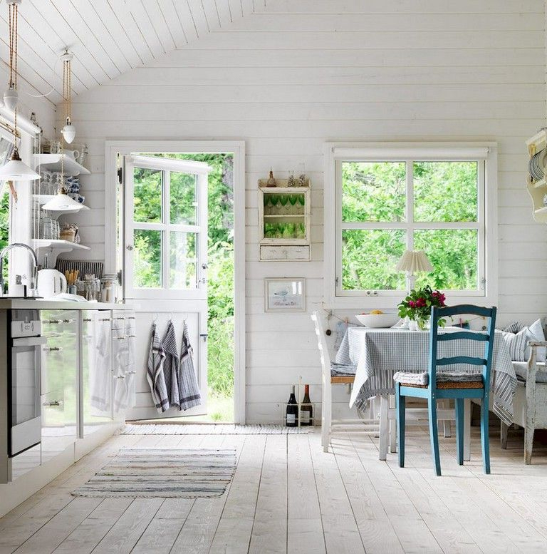 68 Beautiful And Quaint Cottage Interior Design
