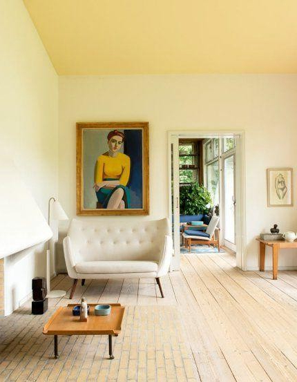 7 Reasons To Have A Non White Ceiling Home Interior