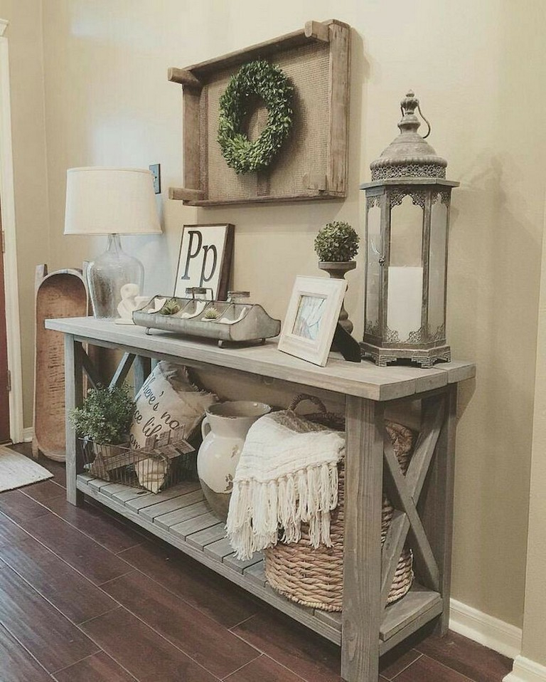 73 Inspiring Rustic Farmhouse Decor Ideas On A Budget