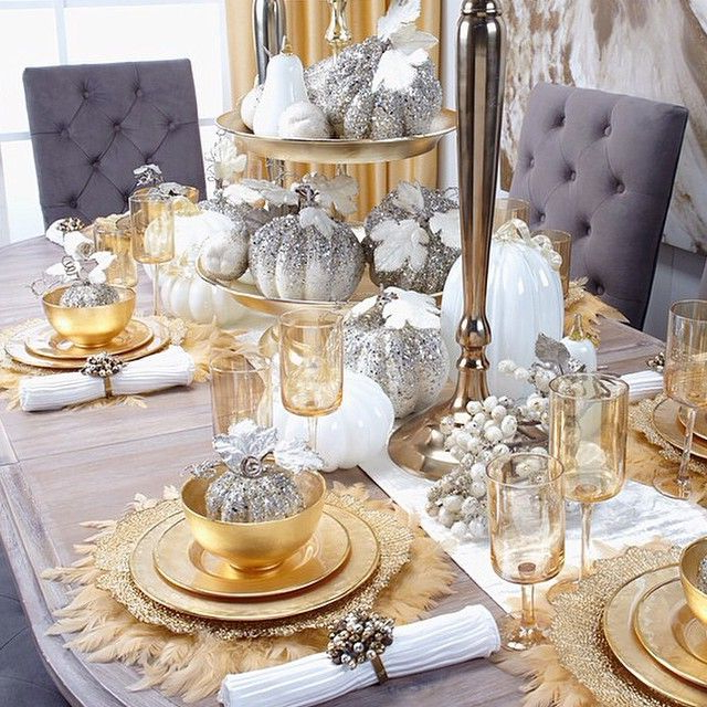 8 Gorgeous Table Settings For Christmas That You Will Love