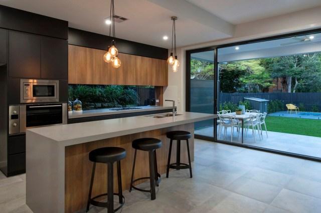 8 Kitchens With Caesarstone Concrete Caesarstone Blog