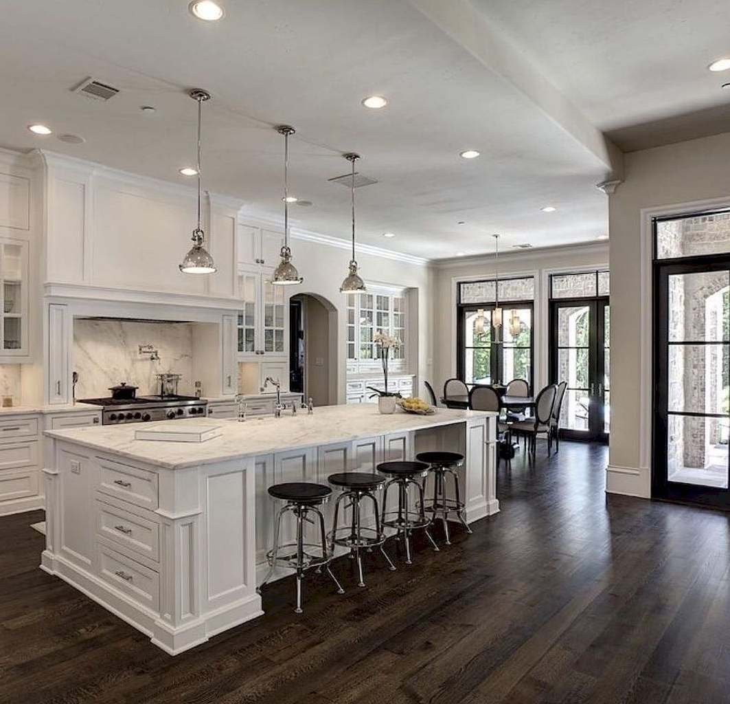 84 Amazing White Kitchen Cabinet Design Ideas White