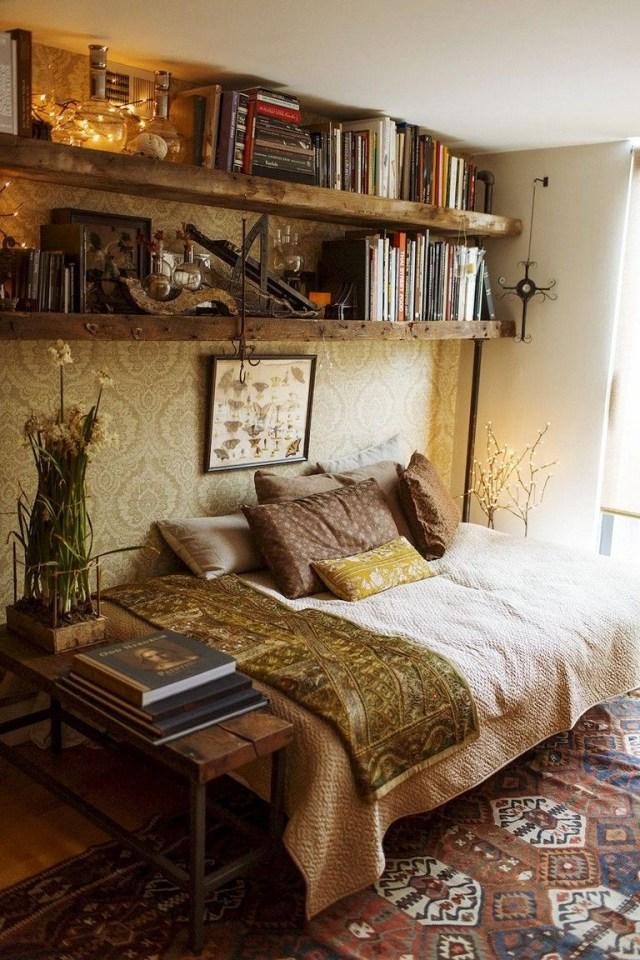 89 Cozy Romantic Bohemian Style Bedroom Decorating Ideas Bohemian Bedroom Design Bohemian