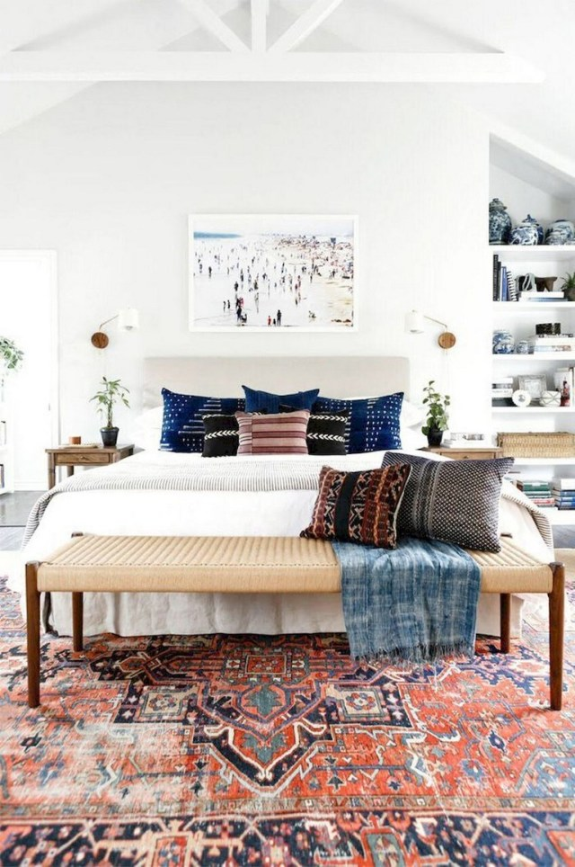 89 Cozy Romantic Bohemian Style Bedroom Decorating Ideas Page 11 Of 90