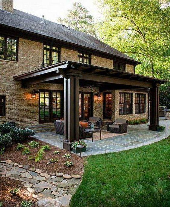 A Beautiful Deck Backyard Patio Designs Patio Backyard