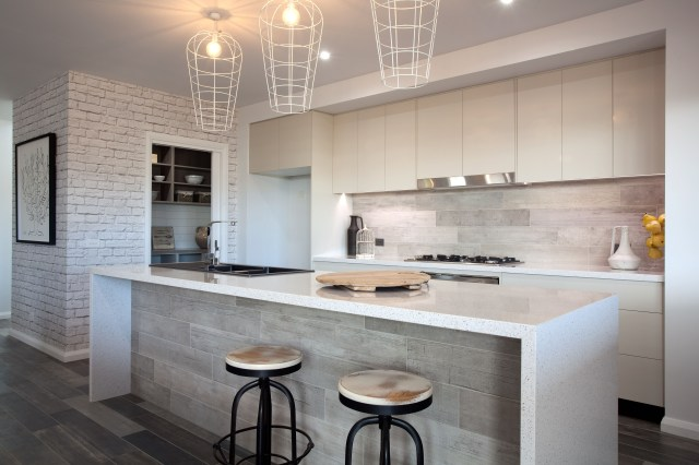 A Very Neutral Country Style Kitchen With Images