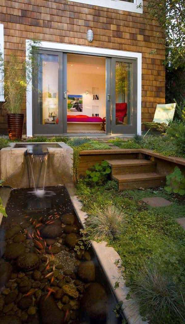 Amazing Fish Ponds And Aquariums For Your Yard