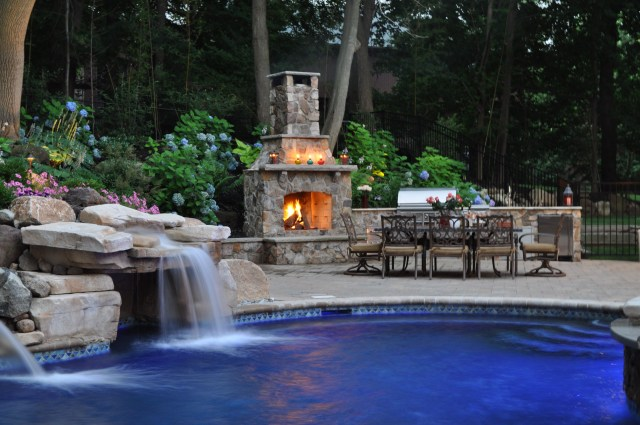 Amazing Garden Fireplace Ideas Most Beautiful Gardens With
