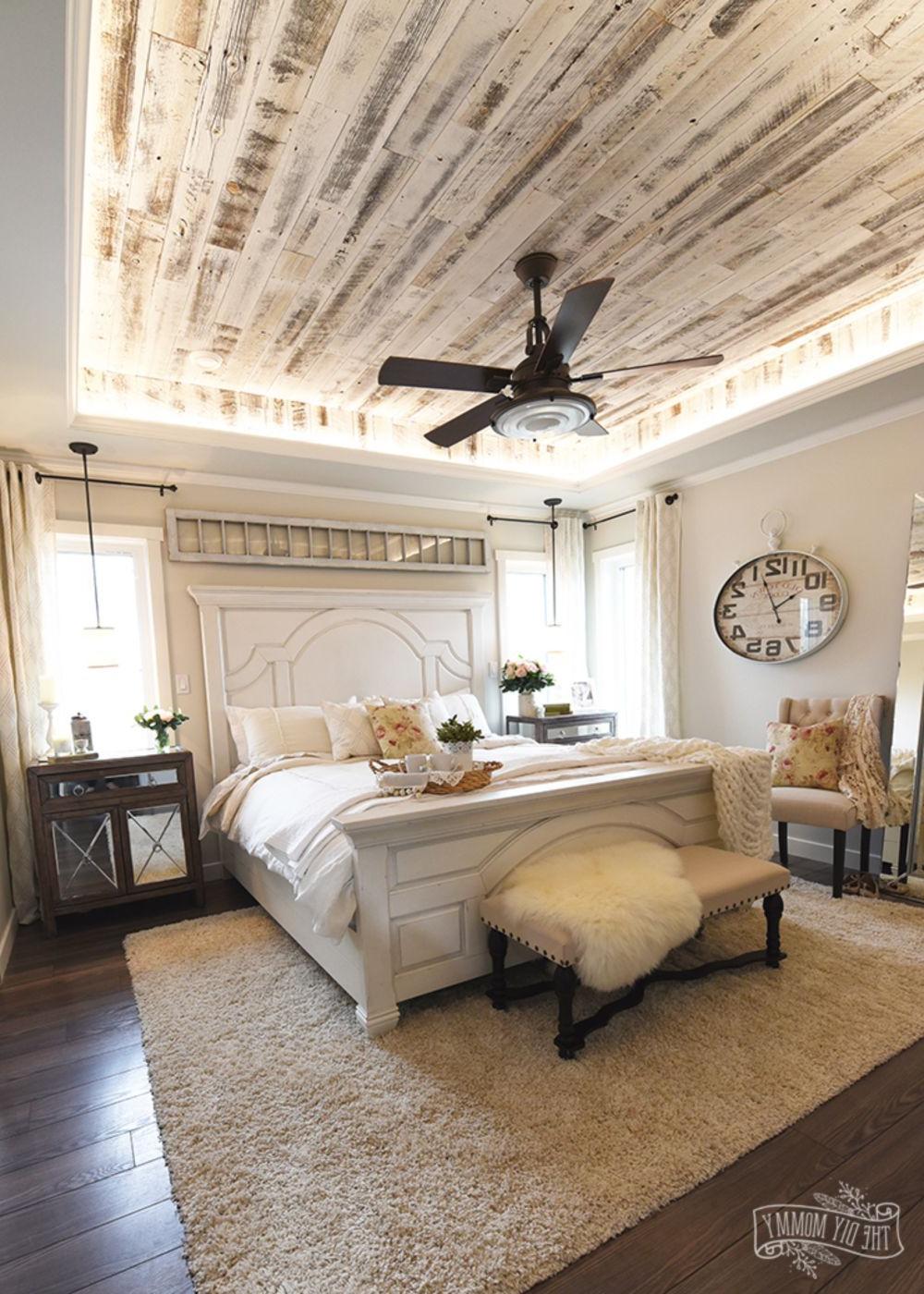 Amazing Ideas To Convert Room Into Farmhouse Bedroom Style