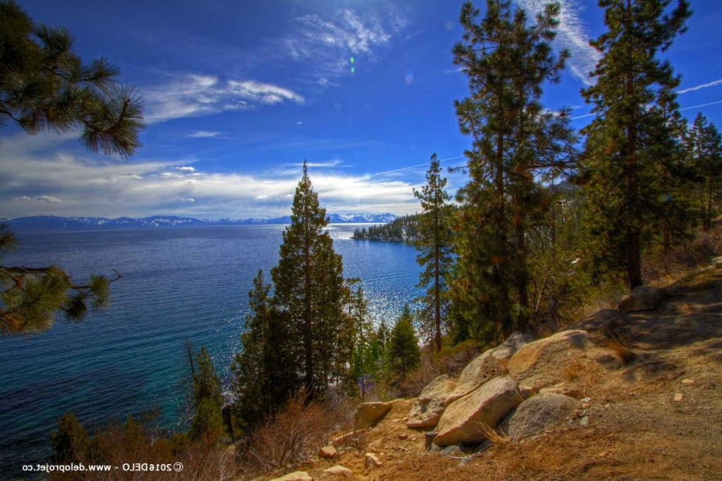 Amazing Landscape Of Lake Tahoe North California Deloprojet