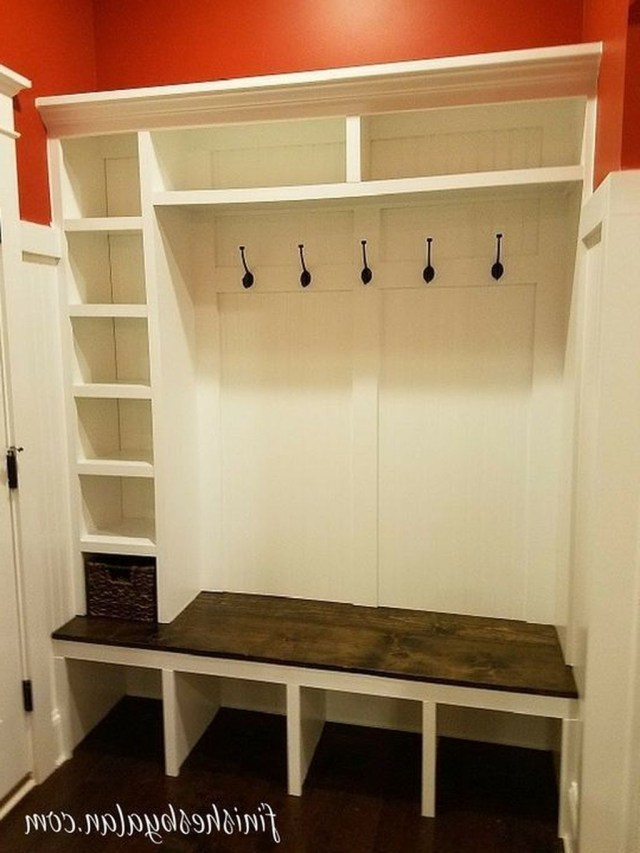 Awesome 30 Totally Inspiring Mudroom Bench Design Ideas