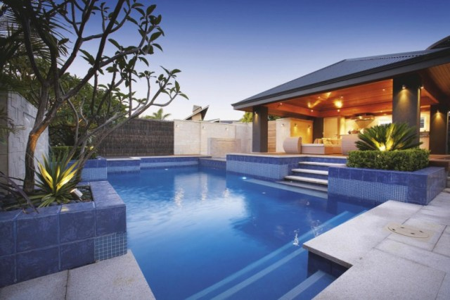 Backyard Cool Backyard Pool Designs For Your Outdoor