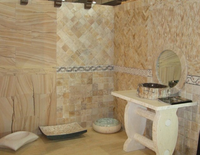 Bathroom Designs In Natural Stone All About Natural