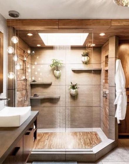 Bathroom Plants Shower Walk In 43 Trendy Ideas Plants
