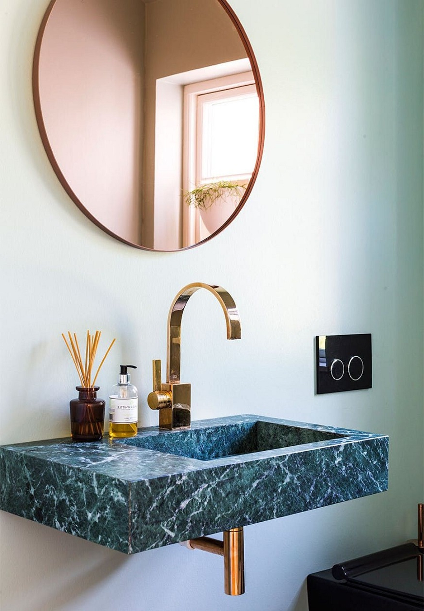 Be Inspired Green Marble Bathroom Ideas To Upgrade Your