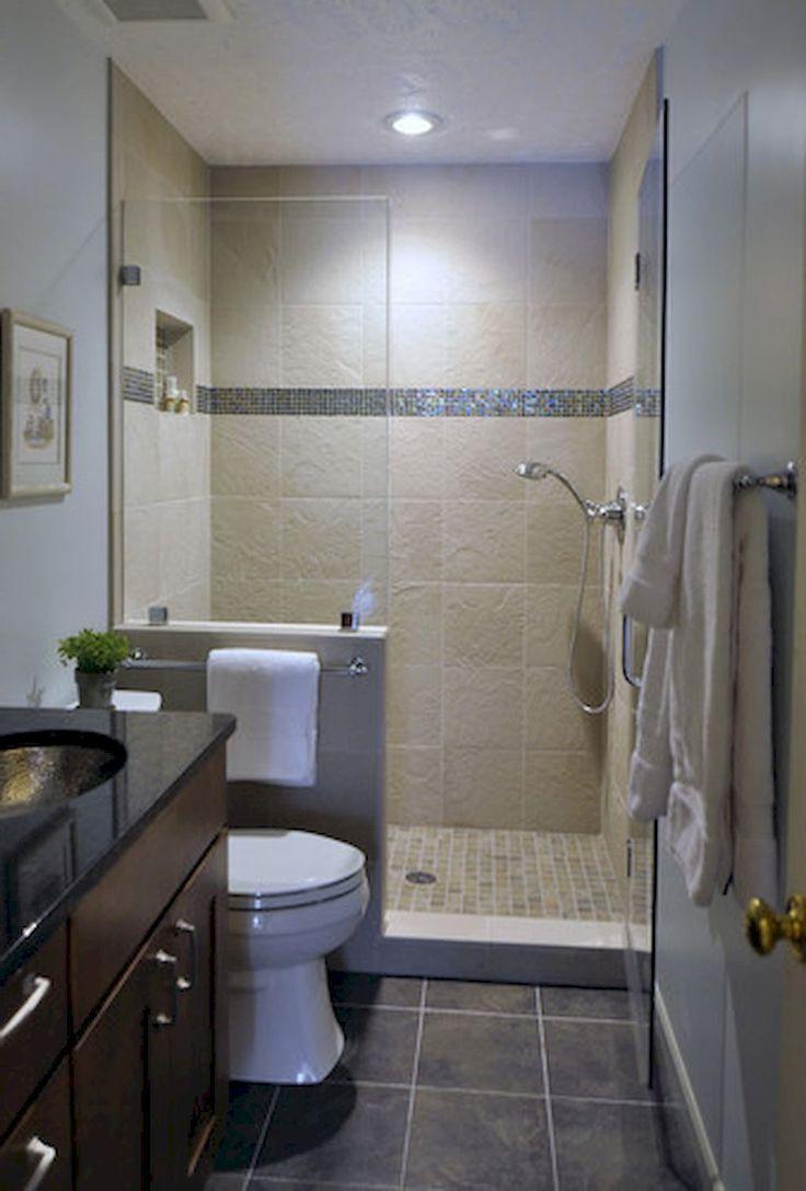 Beautiful Bathroom Shower Tile Decor Ideas 61 With
