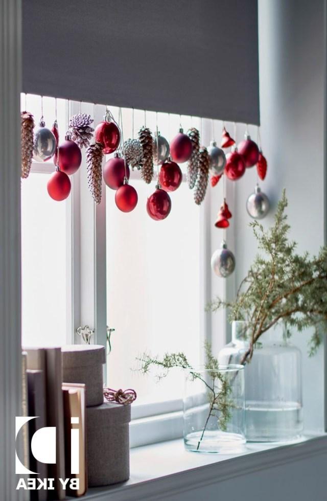 Beautiful Hanging Christmas Decorations Christmas Window