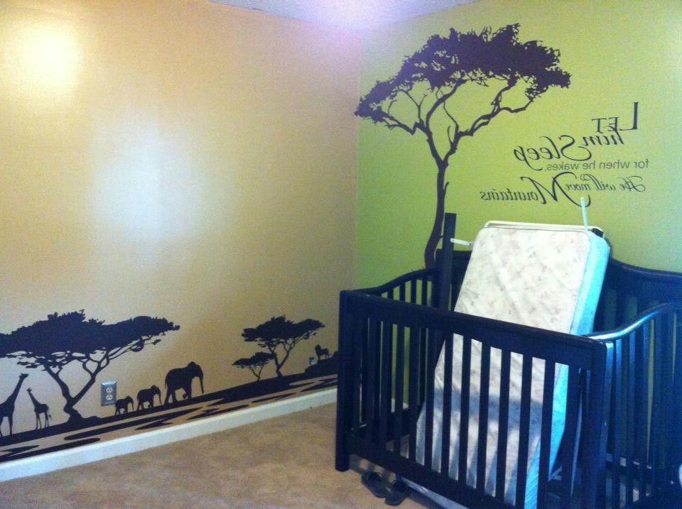 Beautiful Lion King African Themed Nurserykids Room So