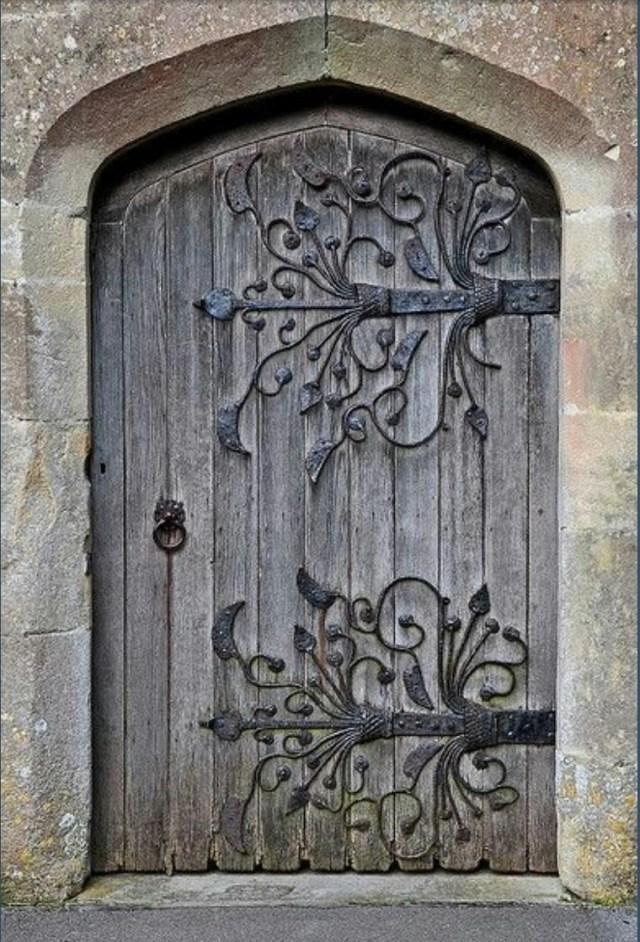 Beautiful Rustic Door Absolutely Love The Hardware Design