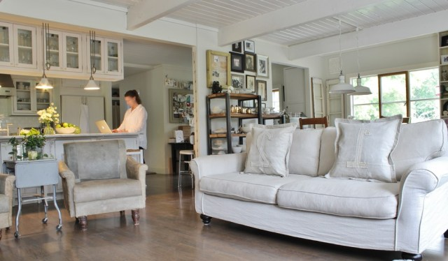 Beautiful Slipcover Sofa In Living Room Farmhouse With White Leather Sofa Ideas Next To Men Home