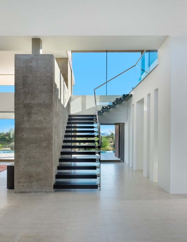 Beautiful Stair Treads In Staircase Contemporary With Pop