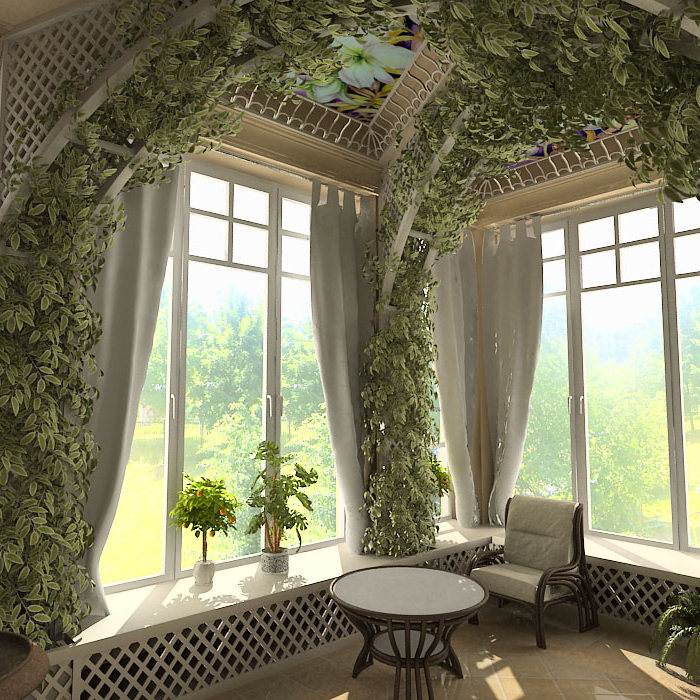 Beautiful Winter Gardens And Designs Home Design