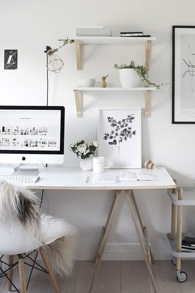Beautiful Workspace Design Image Styling The Design