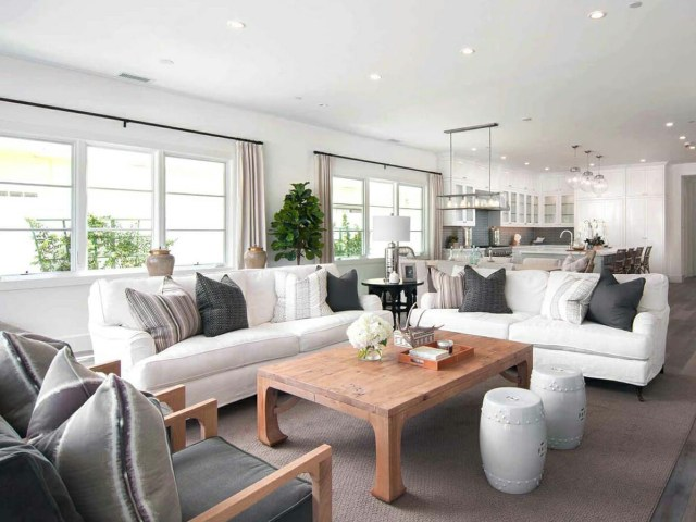 Before After Open Concept Modern Home Interior Design